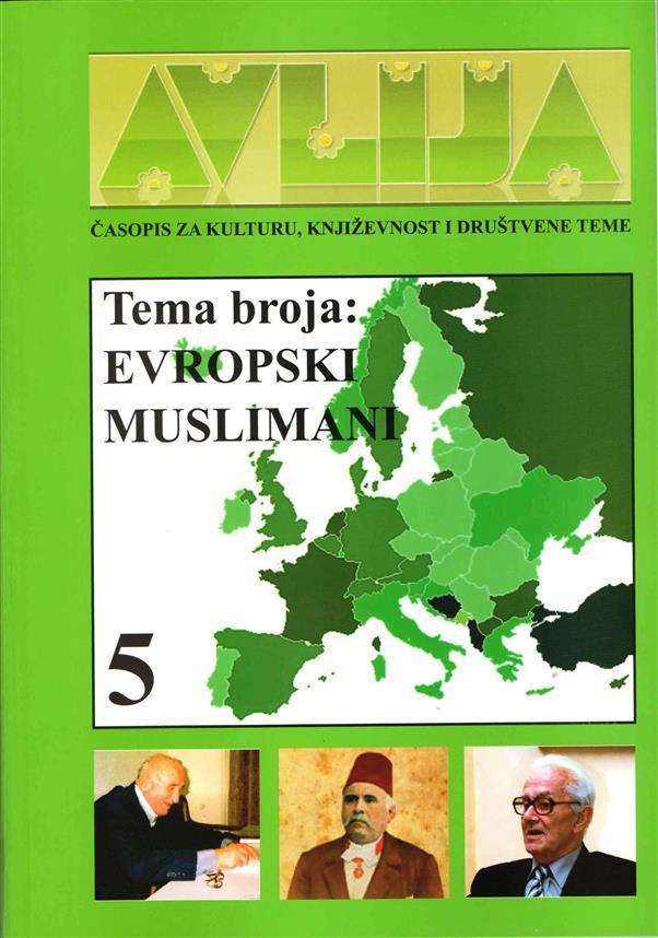 Časopis za kulturu, književnost i društvene teme ''AVLIJA'' broj 5. Format B5, broj strana 150, mehki povez, tiraž 500.