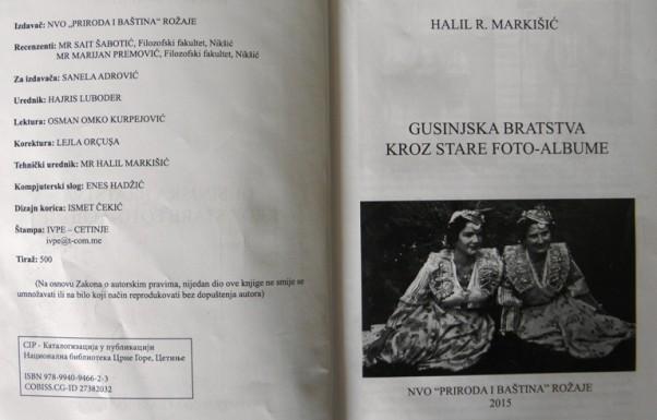 Druga i treća strana knjige