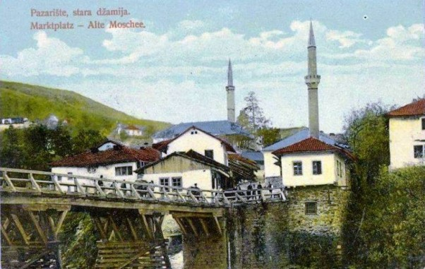 Foča: Most Mehmed-paše Kukavice, Gornji ćehotinski most