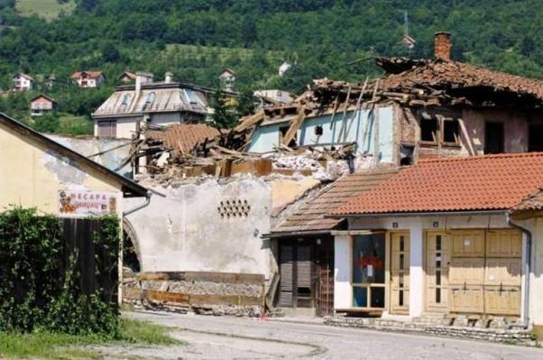 Foča: ostaci hana Mehmed-paše Kukavice