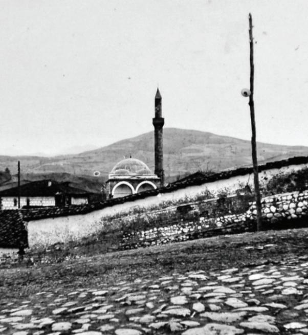 Novi Pazar: novopazarska kaldrma, Altun–alem džamija i mekteb