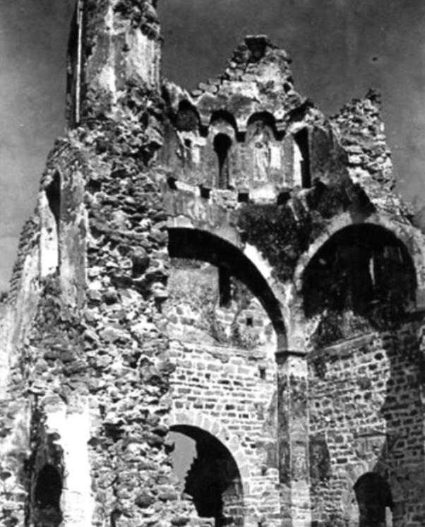 Novi Pazar: Đurđevi stupovi prije obnove 1926. godine