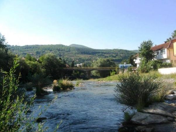 Foča: pogled na Most Mehmed-paše Kukavice, Gornji ćehotinski most