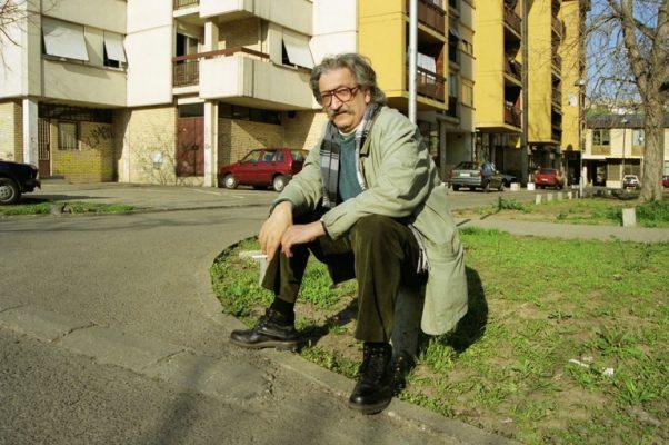 U Novom Sadu, 2001. godina. FOTO: Vladimir Zubac
