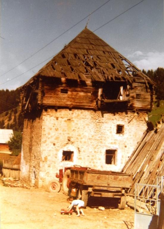 Ganića kula. FOTO: Mehdija Husić