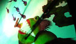 Cengiz Özek Shadow Theatre- Garbage Monster - Turkey