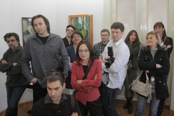 Na fotografiji su: Dušan Nastasijević, Miroslav Beara, Jug Antić, Nemanja Rotar, Jelena Kovaček, Ženja Antić, Boris Antić, Vladimir Zubac, Milica Nikolić, Sanja Mihajlović i Zorana Marić.