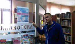 Stefan u Resavskoj biblioteci