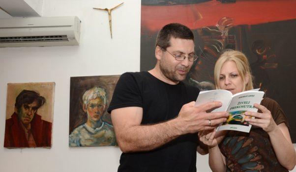 Vuk Antić sa suprugom