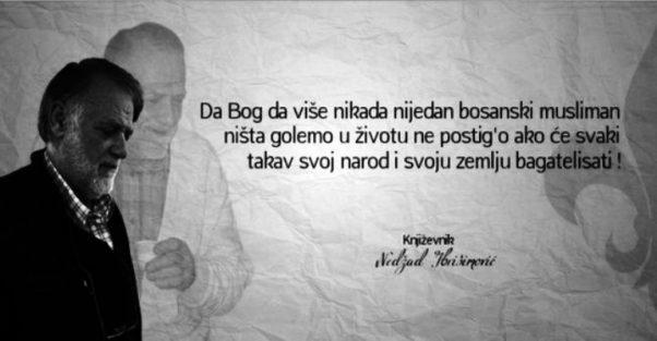 """Nedžad Ibrišimović: """"Derviš i smrt"""" nije muslimanska knjiga"""