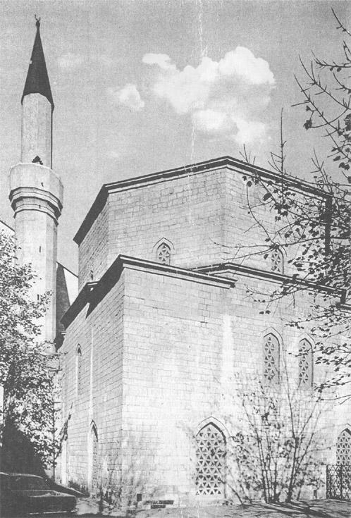Bajrakli džamija u Beogradu, snimak poslije popravke (1953.-1963.)